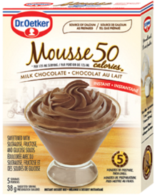 50-Calorie Milk Chocolate Mousse
