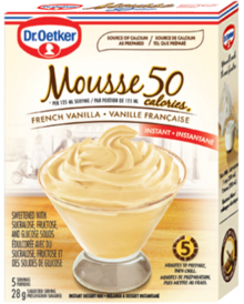 50-Calorie French Vanilla Mousse
