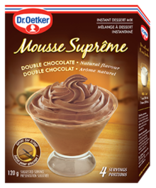 Mousse Suprême - Double Chocolate
