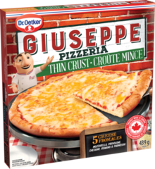 Giuseppe Thin Crust 5 Cheese
