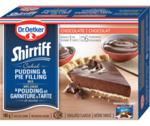 Shirriff Pudding & Pie Filling Chocolate