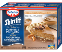 Shirriff  Pudding & Pie Filling Butterscotch