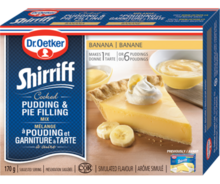 Shirriff Pudding & Pie Filling Banana