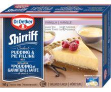 Shirriff Pudding & Pie Filling Vanilla