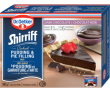 Shirriff Pudding & Pie Filling Dark Chocolate