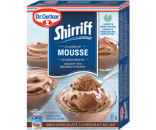 Shirriff Mousse Milk Chocolate