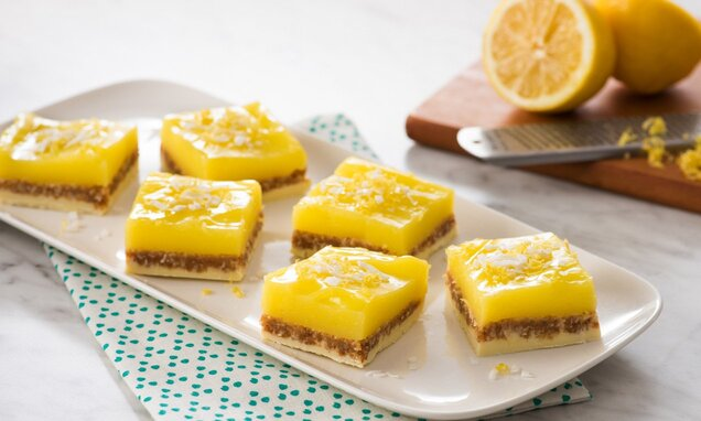 Lemon Nanaimo Bars