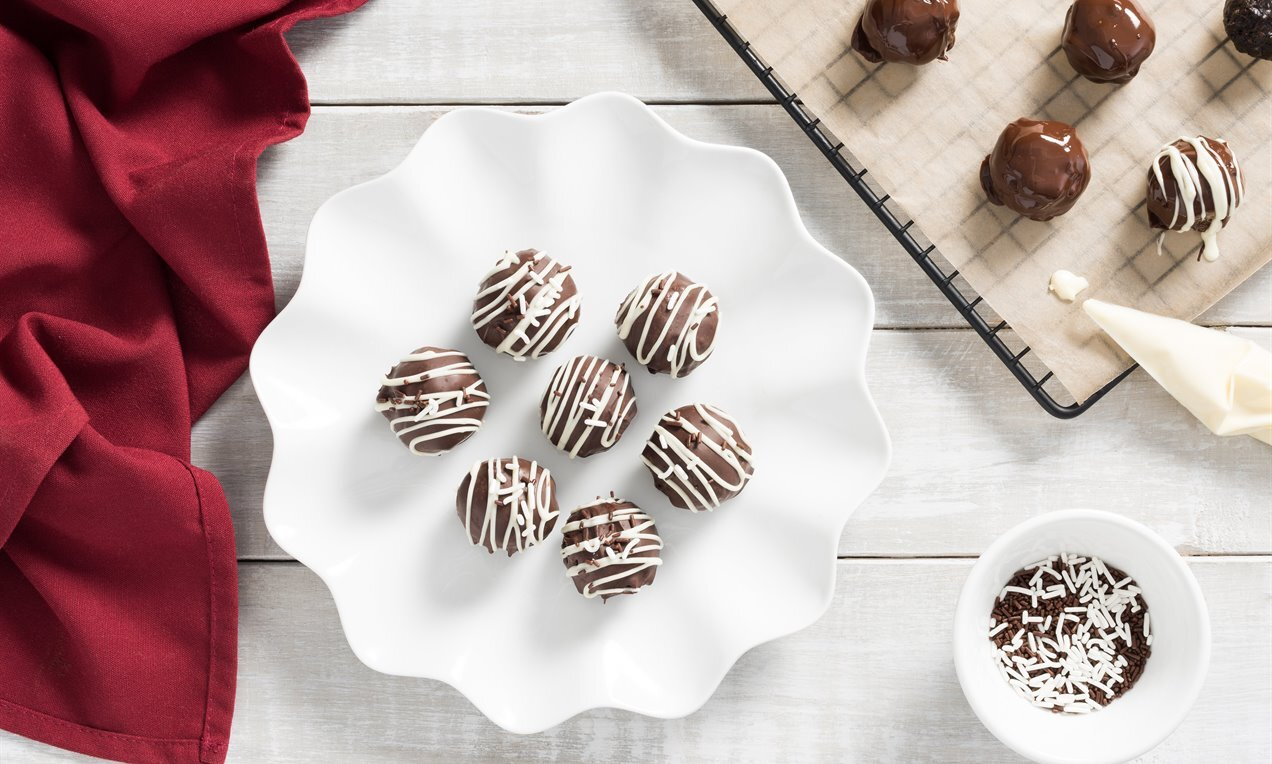 Chocolate Cookie Balls