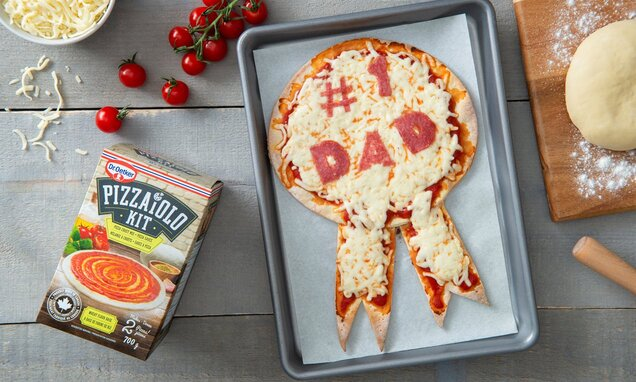 fathers day pizza award