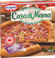 Casa Di Mama - Pizza Bacon