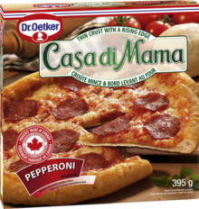 Casa Di Mama - Pizza Pepperoni